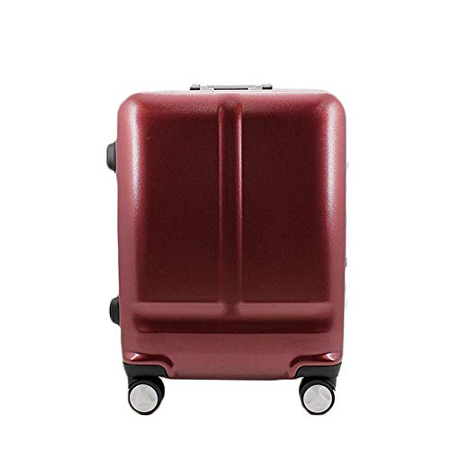 TTZY Rotating Universal Wheel Trolley Case Scrub Suitcase 20/24 Inch Suitcases (Color : Red) SHIYUE (Color : Red)