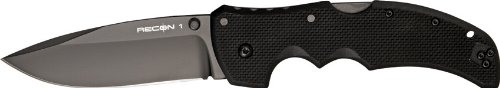 Cold Steel Recon 1 Spear Point Plain Edge Tactical Folder Knife