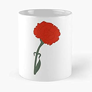 Carnation Flower Hadestown Musical Best Gift Coffee Mugs 11 Oz