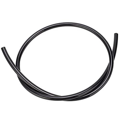 Tubo neumático, manguera neumática de alta redondez para el hogar(black, 10m)