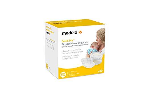 Medela 80309 - Pack de 30 discos absorbentes desechables Medela para pérdidas de leche