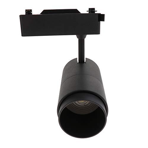 Amuzocity Lámpara de Foco LED Luz de Pista Gabinete de Techo Sala de Montaje Downlight 300MA - S 20W