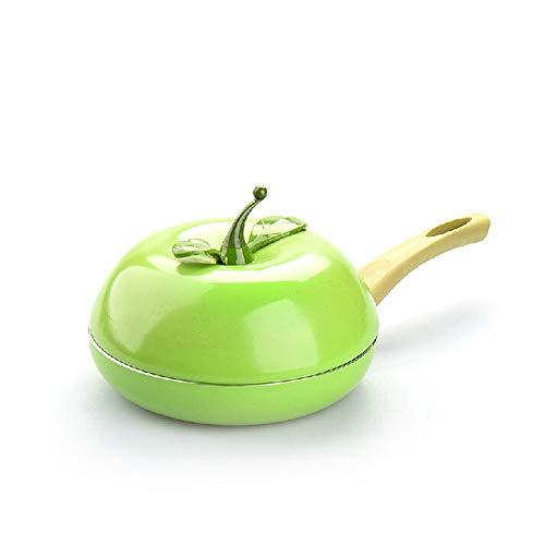 XNLZKD Niet-stick Fruit Fruit Fruit Koekenpan Keramische Pan Grill Pan Gegoten Aluminium Fry Pan Kookgerei Gas Inductie Cooker