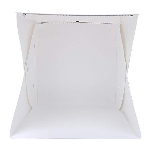 SALUTUYA Caja de luz LED Plegable para Fotos, para joyería
