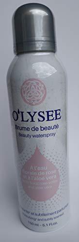 PACK O'LYSSE bruma de belleza hidratante con agua de rosas y Aloe vera. 2 Unidades. Para todo tipo de piel. Uso en cara y cuerpo. Spray refrescante e hidratante. 150ML