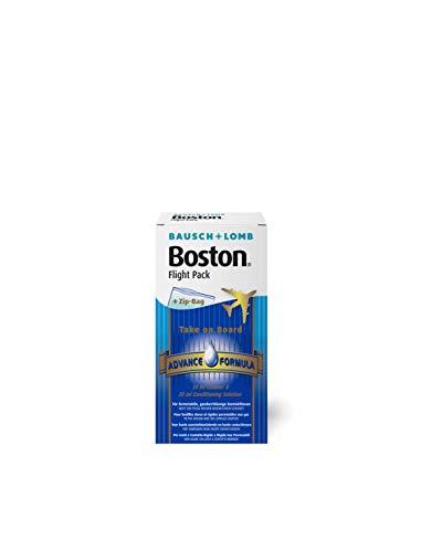 Bausch & Lomb Boston Flight Pack, Kontaktlinsenreiniger und Aufbewahrungslösung, 1er Pack (1 x 30ml + 1 x 30 ml)