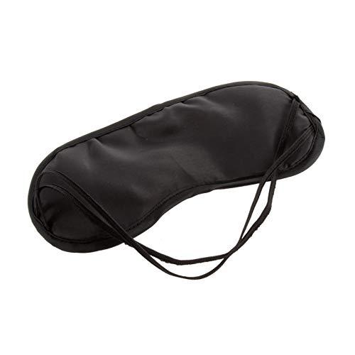 Augenmaske Bequeme Schlafmaske für Ruhe Entspannen Reisen Modische Männer Frauen Reisen Schlafmittel Augenmaske Augenklappe - Schwarz