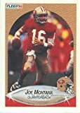 1990 Fleer #10B Joe Montana COR/(216 TD's)...