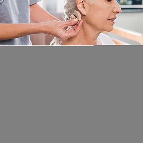 Soporte para audífonos, Clip para audífonos de 11.8 Pulgadas con Caja de Almacenamiento para BTE para niños para Personas Mayores para Adultos(Red)