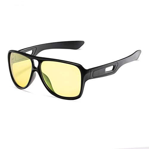 Shihuam gepolariseerde herenzonnebril, polaroïde, voor mannen tijdens het autorijden, vissen, zwart, montuur mannelijk, vierkant