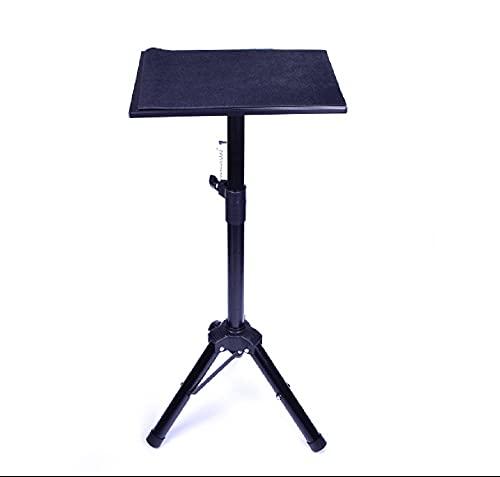 Trípode negro de metal mesa mágica de cerca mesa magia mago mesa escenario calle accesorios
