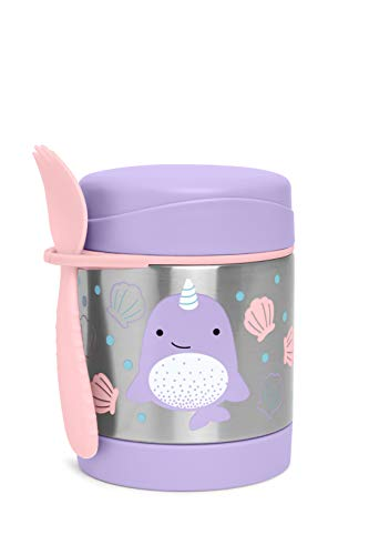 Best Buy! Skip Hop Insulated Food Jar: Stainless Steel Baby Food Container, Narwhal