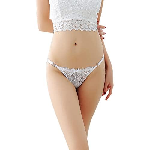 QqFdPPOq Damen Unterwäsche Spitze Tanga Massage Versuchung Dessous Intimates Gstring Unterwäsche Nachtwäsche
