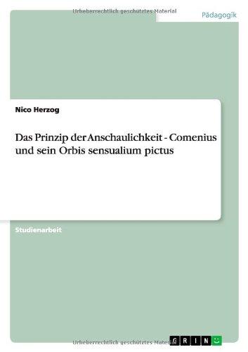 Das Prinzip der Anschaulichkeit - Comenius und sein Orbis sensualium pictus