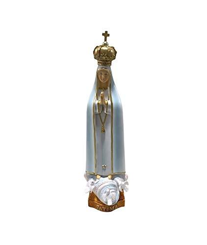 Osiris Trading UK - Figura Decorativa de Virgen María Nuestra Señora de Fátima para el hogar o la Capilla
