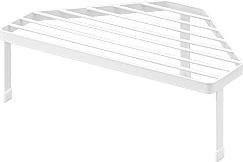 山崎実業(Yamazaki) 排気口カバー上 コンロコーナーラック ホワイト 約W34XD22.5XH11.2cm タワー 高さがある 鍋置き フライパン置き 5256