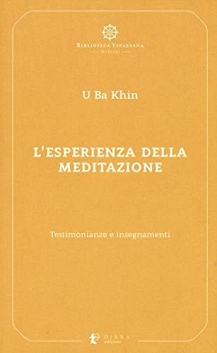 L'esperienza della meditazione. Testimonianze e insegnamenti