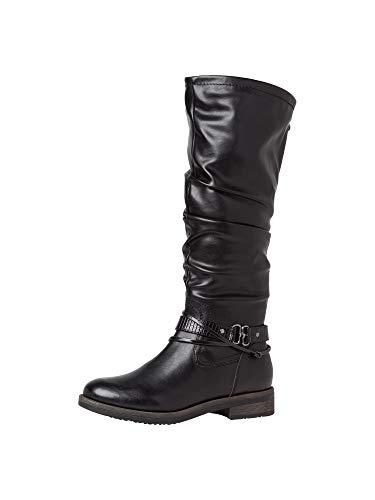 Tamaris Damen Stiefel 1-1-25548-25 001 normal Größe: 37 EU