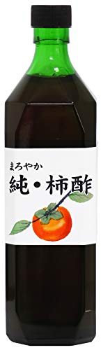 自然健康社純・柿酢720ml瓶入り