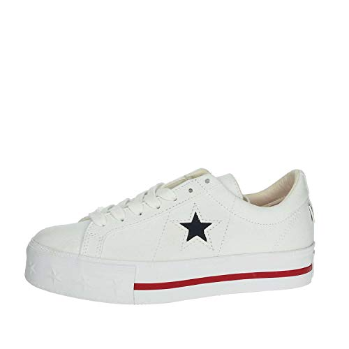 Converse ONE Star PLATF.White 564030C, dames sneakers