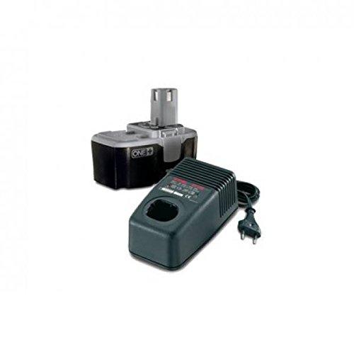 Ryobi 0001908 2 18V NiCd Batería + Cargador Pack