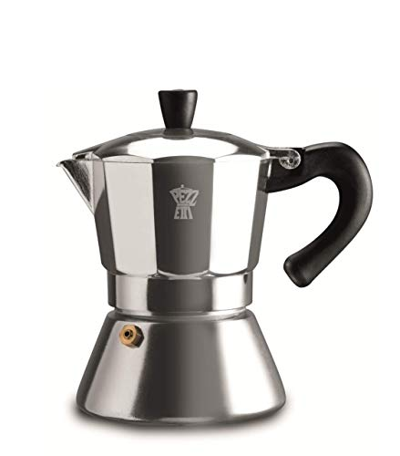 Pezzetti Bellexpress Coffee Maker, 6 Cups, Grau
