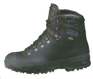 Meindl Meindl Berg GTX Sicherheits-Stiefel S3 SRC HI CI WR HRO EN ISO 20345 schwarz - Schwarz, 44