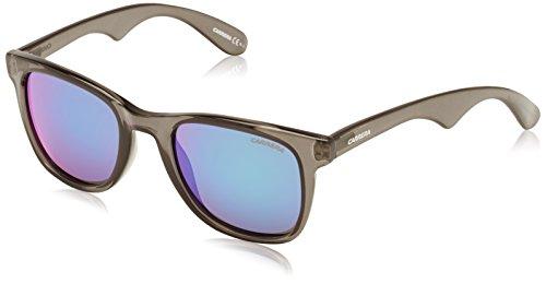 Carrera 6000L/N T5 2V5 Gafas de sol, Gris (Grey Blue/Grey Green Mirror), 51 Unisex-Adulto