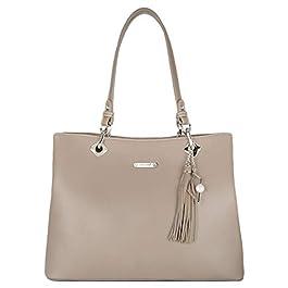 David Jones – Sac à Main Porté Epaule Femme – Cabas Fourre-Tout Cuir PU Souple Grande Capacité – Tote Shopper Bag Large…