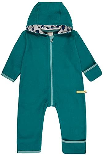 loud + proud Unisex Baby Fleece, GOTS Zertifiziert Overall, Ivy, 86/92