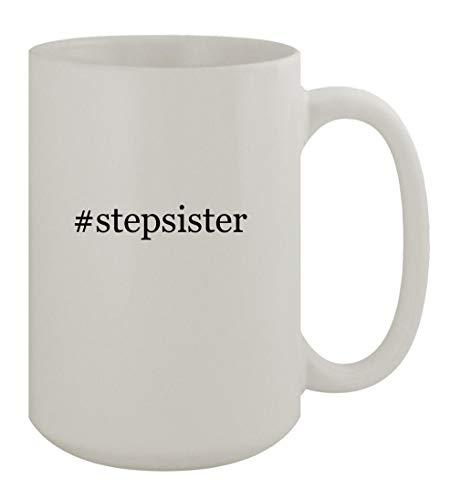 #stepsister - 15oz Ceramic White Coffee Mug, White