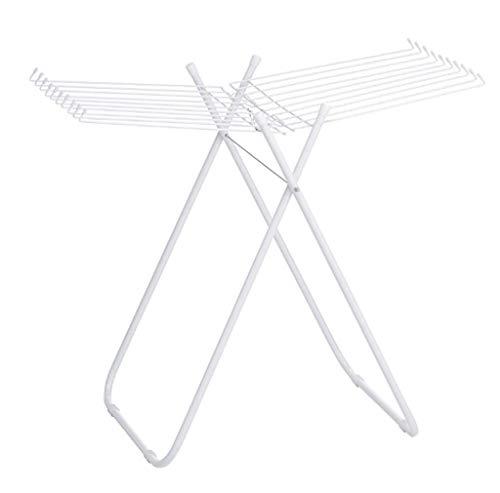 LDYJ Armature en Aluminium avec Armature en Forme d'ailes de Sol Pliable pour bébé, bâtons secs de Balcon