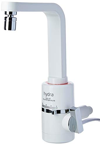 Hydra TPSL.4.552BR, Torneira Multitemperatura Slim 4T, 5500W, 220V, Branco