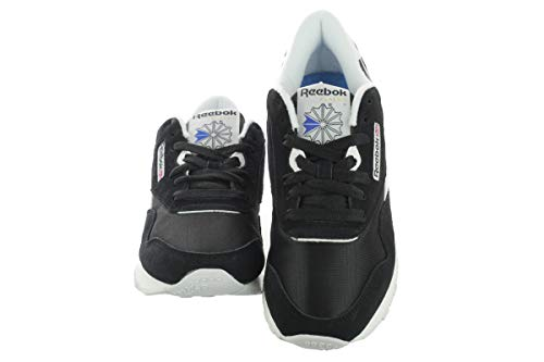 Reebok Classic Nylon, Women's Training Running, Black (Black/White 0), 4.5 UK (37.5 EU)