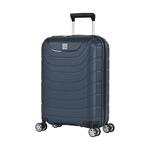 Probeetle by Eminent Hand Luggage Voyager XXI 55 cm 38 L Premium Hardshell Lightweight 4 Double Silent Wheels Blue