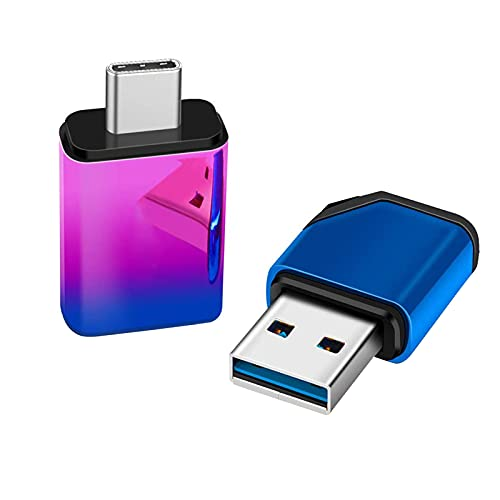 Unidades flash USB, USB 2.0 8GB/16GB/32GB/64GB/128GB USB Durable Mini Metal Tipo-C USB Stick para el teléfono - 8GB