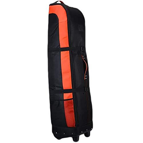 April Story Gepolsterte Golf-Reisetasche Golf Club Reiseabdeckung Universal Size Golftasche und Schützen Sie Ihre Ausrüstung auf Beständig Wasserdicht für Flugzeug Flughafenreisen
