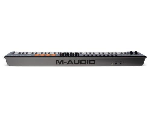 M-Audio Oxygen 61 IV - Teclado Controlador MIDI USB con 61 teclas y Pads Sensibles a la intensidad, Sistema DirectLink de Asignación Automática, VIP 3 y Paquete de Software Incluido