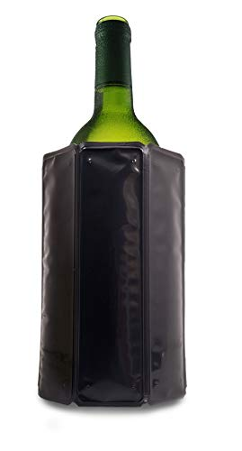 Vacu Vin Refrigeratore per Vino Attivo, Senza ghiaccio - Nero
