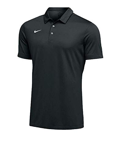 Nike Mens Dri-FIT Short Sleeve Polo Shirt (Large, Anthracite)