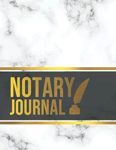 Notary Journal: Notary Records Journal for Women   Notary Public Logbook   Official Notary Journal   Notary Gift   (Big Size Not