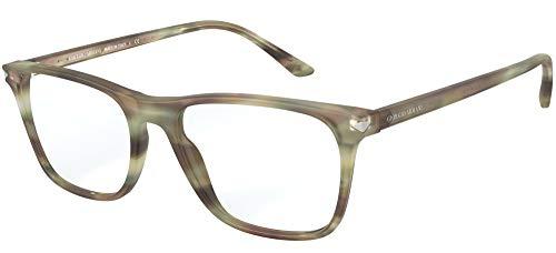 Giorgio Armani Gafas de Vista AR 7177 Striped Green 53/18/145 hombre