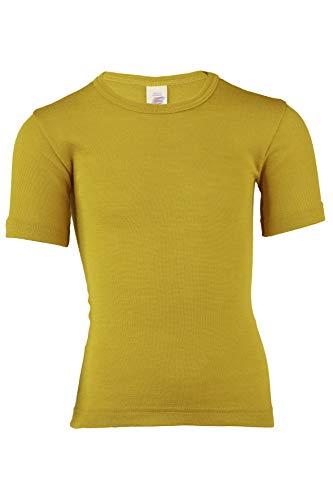 Engel, onderhemd korte mouwen, wol zijde, maat 92-176