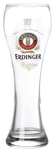 Fischer 17520 Vaso de Cerveza 0,5 L 6 Teiliges Set, Erdinger