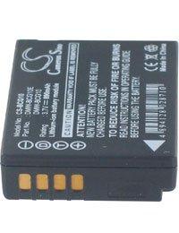 Batterie pour PANASONIC LUMIX DMC-TZ30, 3.7V, 860mAh, Li-ion