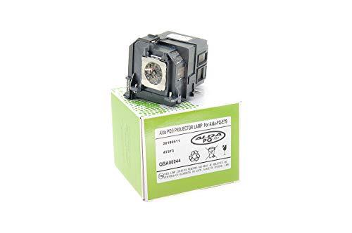 Alda PQ-Premium, Beamerlampe / Ersatzlampe für EPSON 575 WI, EB-575 W 570, EB, EB EB-575WI, 570, 575 W Projektoren, Lampe mit Gehäuse