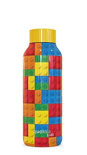 Quokka Kids - Solid Color Bricks 510 ML | Botella de Agua...