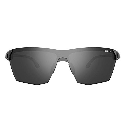 BEX Lethal Polarized Black/Gray Sunglasses