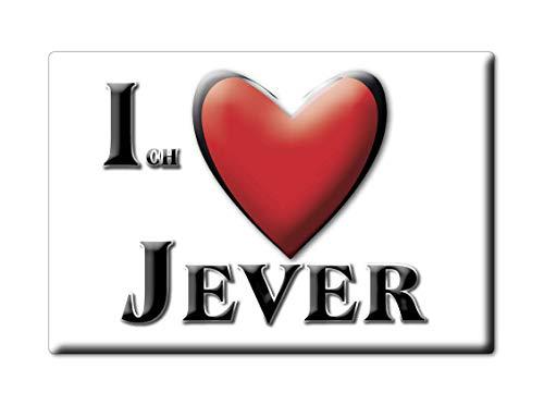 Enjoymagnets JEVER (NI) Souvenir Deutschland Niedersachsen Fridge Magnet KÜHLSCHRANK Magnet ICH Liebe I Love
