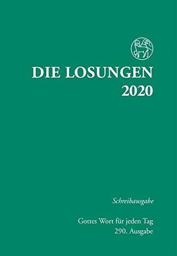 Die Losungen 2020 Deutschland / Die Losungen 2020: Schreibausgabe